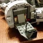 Base frame for the cockpit